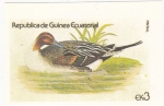 Stamps Equatorial Guinea -  AVE- PATO