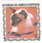 Stamps Equatorial Guinea -  GATO- SIAMES
