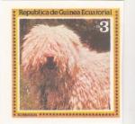 Stamps Equatorial Guinea -  PERRO DE RAZA- KOMODOR