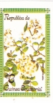 Stamps of the world : Equatorial Guinea :  FLORES- ROSA MULTIFLORA