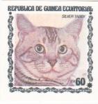 Stamps Equatorial Guinea -  GATO- SILVER TABBY