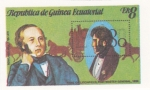 Stamps Equatorial Guinea -  ROWLAND HILL (LONDON 1980)