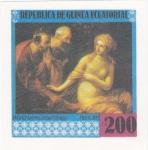 Stamps Equatorial Guinea -  PINTURAS FAMOSAS DESNUDOS