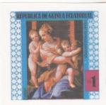 Stamps : Africa : Equatorial_Guinea :  PINTURAS FAMOSAS DESNUDOS-SALVIATI