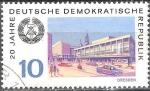 sellos de Europa - Alemania -  20.Años DDR,Dresden.