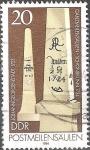 Sellos de Europa - Alemania -  Hitos postales-DDR.