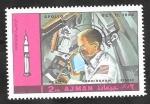 Stamps : Asia : United_Arab_Emirates :  Ajman 115 - Programa Apolo 7
