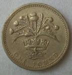 monedas de Europa - Reino Unido -  1984 - one pound