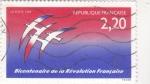 Sellos del Mundo : Europa : Francia :  BICENTENARIO DE LA REVOLUCIÓN FRANCESA
