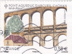 Stamps France -  ACUEDUCTO VAL-DE-MARNE