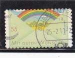 sellos de Europa - Alemania -  CON BUENOS DESEOS