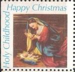 sellos de America - Estados Unidos -  Santa Infancia,Feliz Navidad.