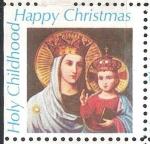 Stamps of the world : United States :  Santa Infancia,Feliz Navidad.