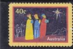 Stamps : Oceania : Australia :   LOS REYES CAMINO DE BELEN