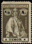 Stamps Portugal -  PORTUGAL Sello Nuevo Timor Campesina
