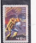 Stamps of the world : Australia :  ASTRONAUTA
