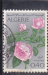 Stamps of the world : Algeria :  FLORES- ROSA