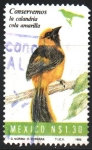 Stamps Mexico -  CONSERVEMOS  LA  CALANDRIA  COLA  AMARILLA