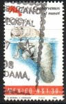 Stamps : America : Mexico :  CONSERVEMOS  EL  MANATÍ
