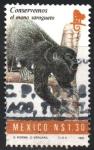Stamps Mexico -  CONSERVEMOS  EL  MONO  SARAGUATO