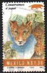 Stamps Mexico -  CONSERVEMOS  EL  JAGUAR