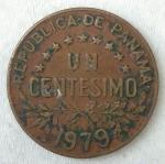 monedas de America - Panamá -  1976 - 1 centesimo