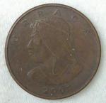 monedas de America - Panamá -  2001 - 1 centesimo