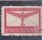 Stamps Argentina -  AVIÓN CORREO AEREO