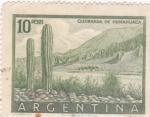 Stamps Argentina -  QUEBRADA DE HUMAHUACA