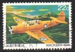 Stamps : Oceania : Australia :  AVIÓN  DE  ENTRENAMIENTO  WACKETT  1941
