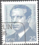 Sellos de Europa - Alemania -  Personalidades importantes, Max Reinhardt (DDR).