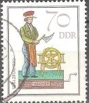 Sellos de Europa - Alemania -  Juguetes historicos artesanos-Wagner (DDR).