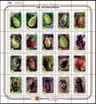 sello : America : Honduras : Banco Atlantida-Endemic beetles