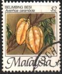 Stamps : Asia : Malaysia :  AVERRHOA  CARAMBOLA
