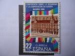 Sellos de Europa - España -  Ed:2592 - Conferencia sobre la seguridad y la cooperación en Europa.Madrid 1980