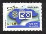 Sellos de America - Honduras -  100 años Rotary International