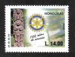 Stamps Honduras -  100 años Rotary International