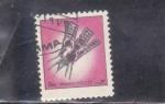 Stamps : Asia : United_Arab_Emirates :  AERONÁUTICA- COHETE ESPACIAL