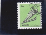 Stamps : Asia : United_Arab_Emirates :  OLIMPIADA DE INVIERNO