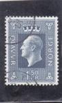 Stamps Norway -  rey Olaf V