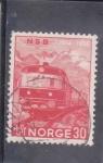 Sellos de Europa - Noruega -  CENTENARIO DEL FERROCARRIL