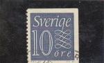 Sellos del Mundo : Europa : Suecia : cifra