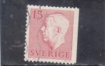 Stamps : Europe : Sweden :  Gustavo VI Adolfo de Suecia