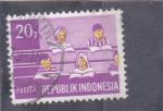 Sellos del Mundo : Asia : Indonesia : ENSEÑANZA