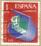 Stamps : Europe : Spain :  GRAPHISPACK 66