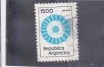Stamps Argentina -  Escarapela Argentina