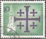 Sellos de Europa - Alemania -  Día de las Iglesias Evangélicas 1961.