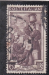 Stamps : Europe : Italy :  BORDADORA Y CANTINERA