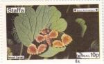 Stamps United Kingdom -  MARIPOSA