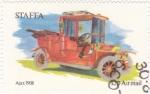 Stamps United Kingdom -  COCHE DE EPOCA- AJAX 1908